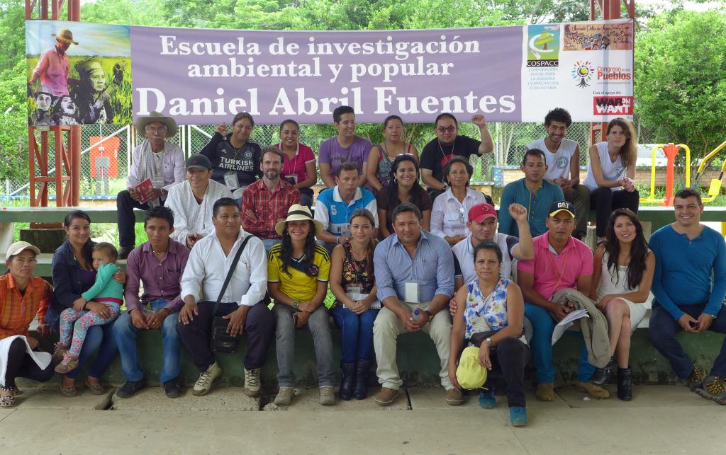 The Daniel Abril Popular School for Social and Environmental Research. Photo Credit: Michael Gillard