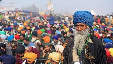 Farmers, workers and allies in India take action against new unjust agriculture and labour laws.