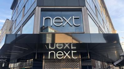 Next storefront London. Credit: Pete Lynes
